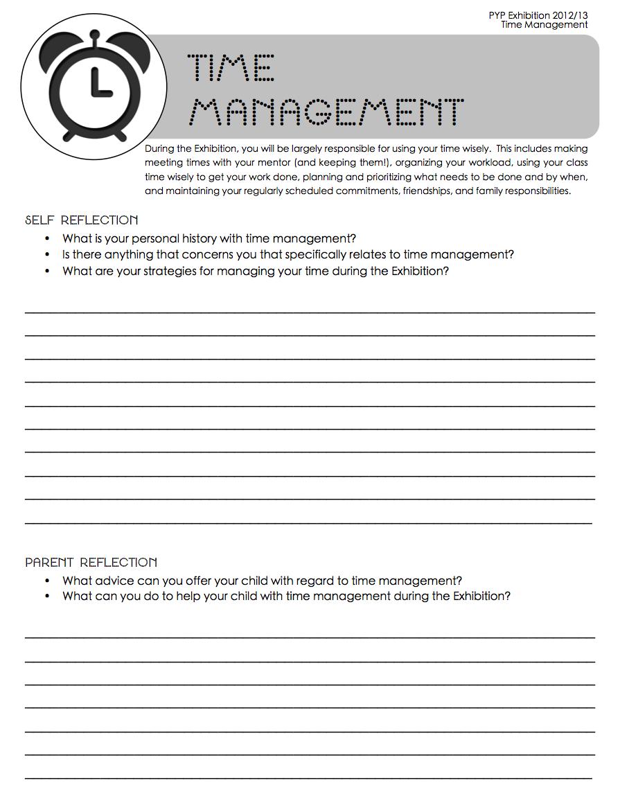 Time Management - sonya terborg