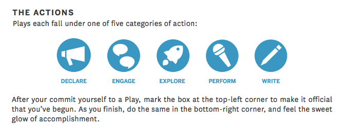 Five Categories of Action