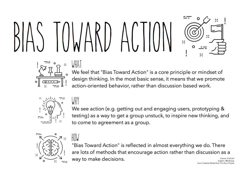 Bias Toward Action